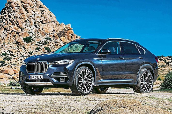 For the first time about the creation of the BMW X8