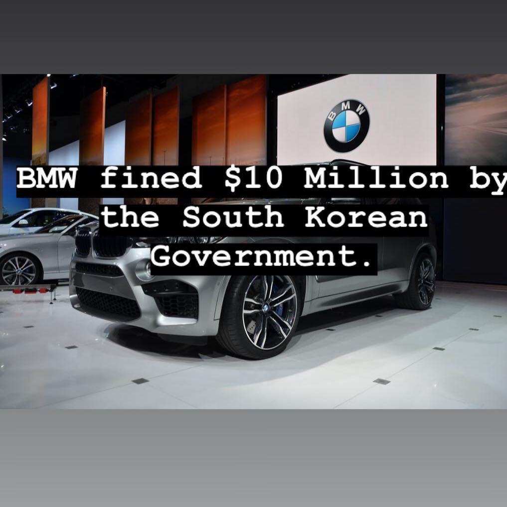 It is being reported that BMW...