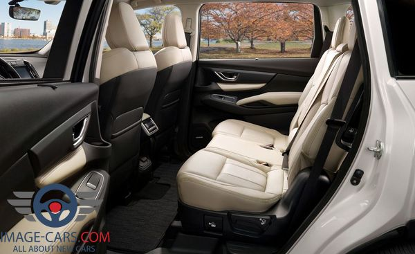 Salon view of Subaru Ascent of 2018 year