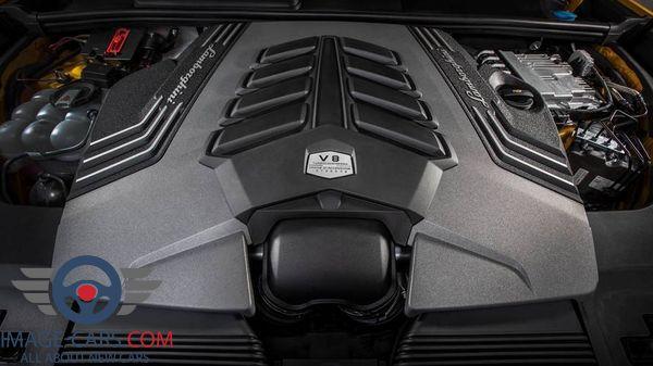 Engine view of Lamborghini Urus of 2018 year