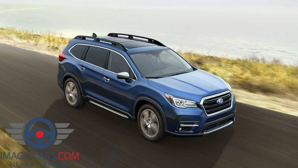 Front Right side view of Subaru Ascent of 2018 year