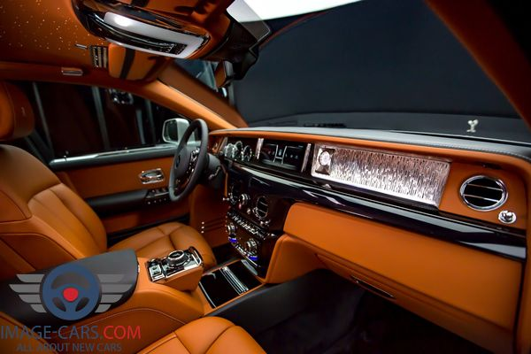 Salon view of Rolls-Royce Phantom of 2018 year