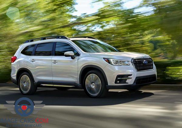 Front Right side of Subaru Ascent of 2018 year