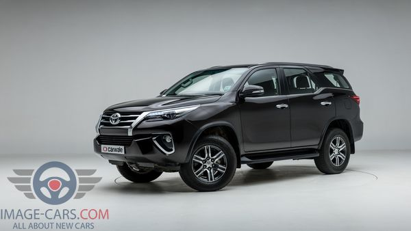 Left side of Toyota Fortuner of 2018 year