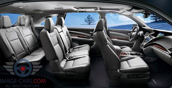 Salon view of Acura RDX of 2018 year