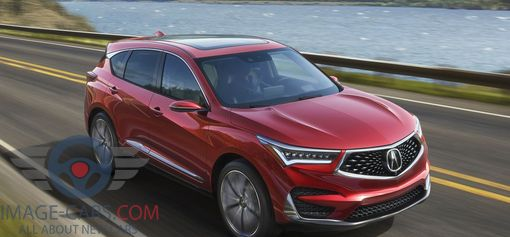 Front Rright side of Acura RDX of 2018 year