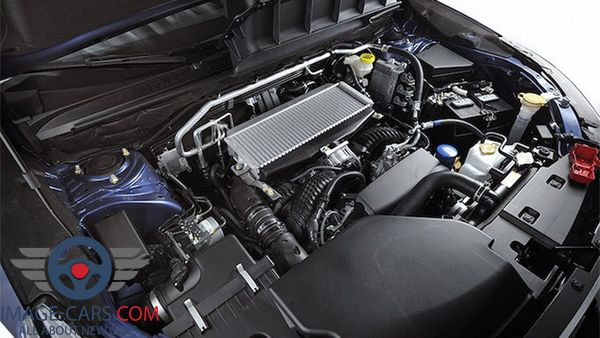 Engine view of Subaru Ascent of 2018 year
