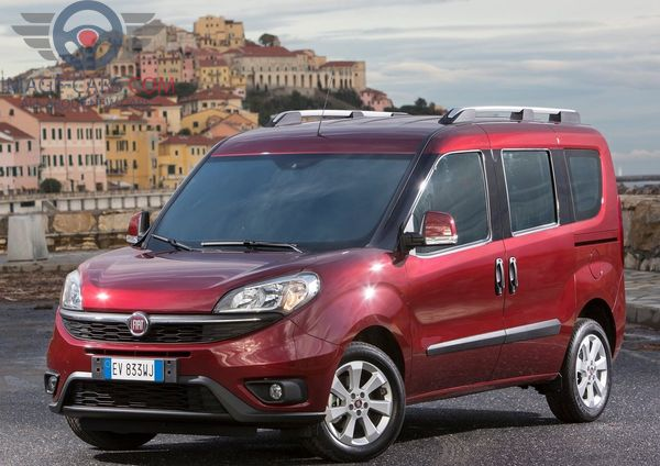 Front view of Fiat Doblo of 2018 year