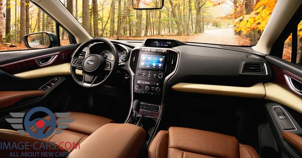 Dashboard view of Subaru Ascent of 2018 year
