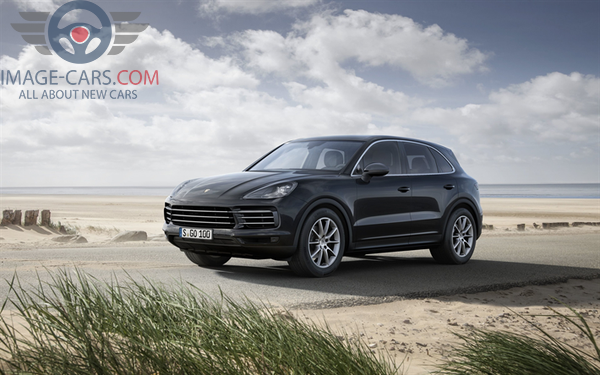 Front Left side of Porsche Cayenne 0f 2018 year