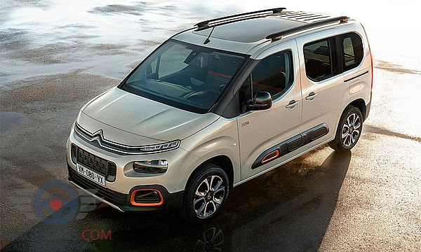 Front Left side of Citroen Berlingo of 2019 year