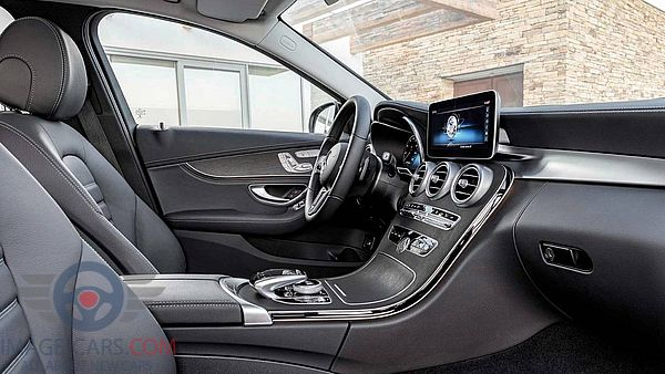 Salon view of Mercedes Benz C class of 2019 year