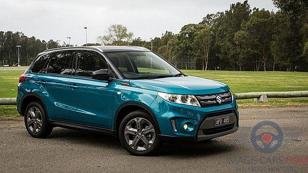 Right side view of Suzuki Grand Vitara of 2018 year