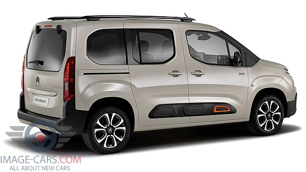 Rear Right side of Citroen Berlingo of 2019 year