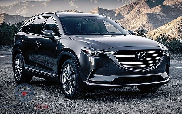 Front Right side of Mazda CX9 of 2018 year