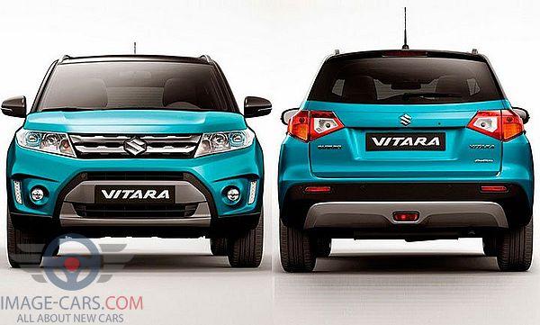 Rear view of Suzuki Grand Vitara of 2018 year