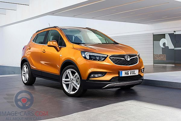 Front Right side of Opel Mokka of 2018 year