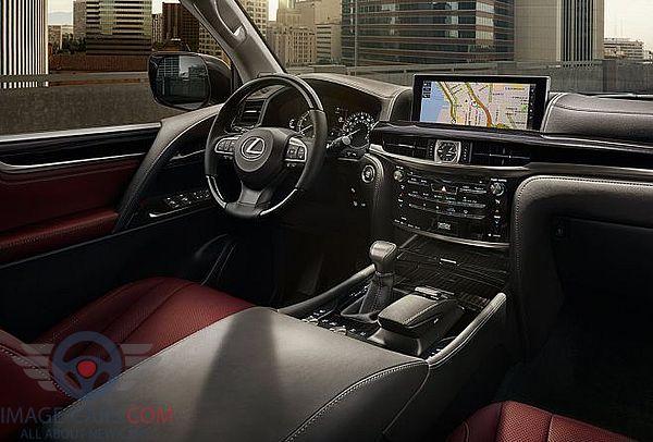 Salon view of Lexus LX 570 of 2018 year