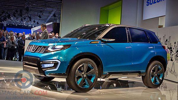 Left side of Suzuki Grand Vitara of 2018 year