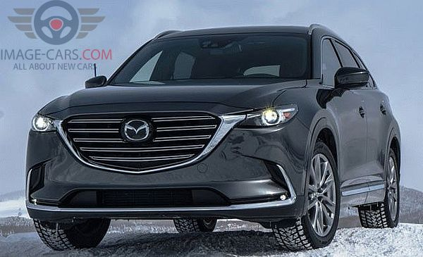 Front view of Mazda CX9 of 2018 year