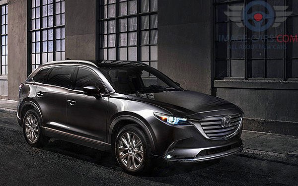 Right side of Mazda CX9 of 2018 year