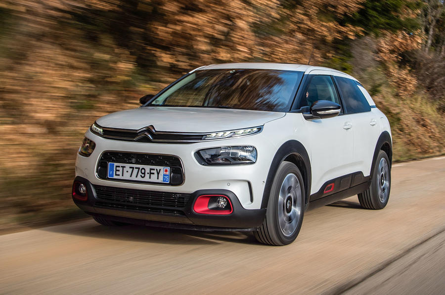 Front Left side of Citroen C4 Cactus of 2018 year