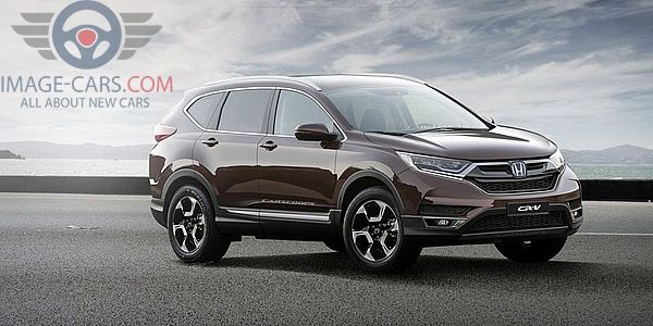 Front Right side of Honda CR-V of 2018 year