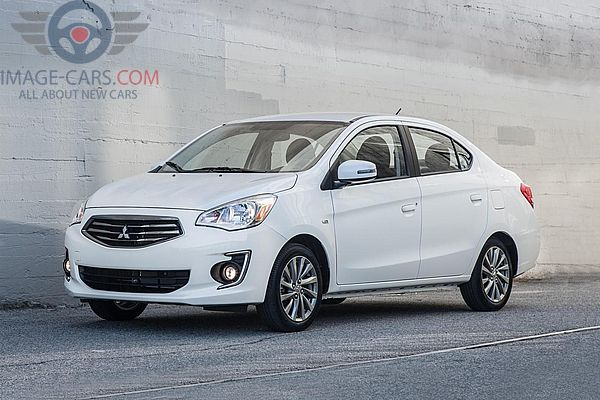 Front Left side of Mitsubishi Mirage of 2018 year