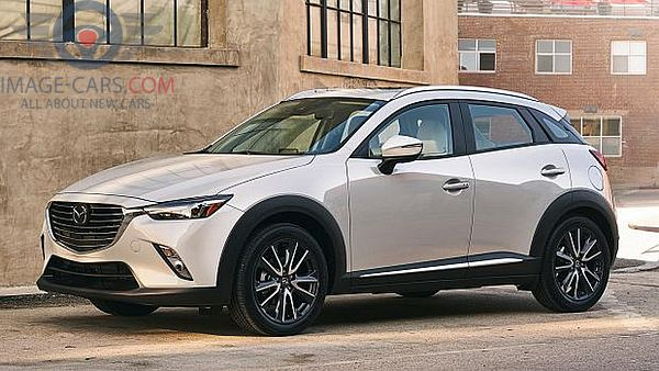 Front Left side of Mazda CX3 of 2017 year