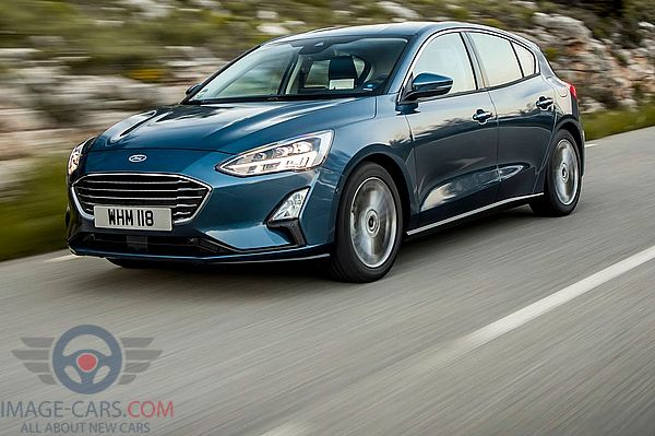 Front Left side of Ford Focus of 2018 year