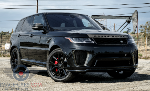 Front Right side of Range Rover Sport of 2018 year