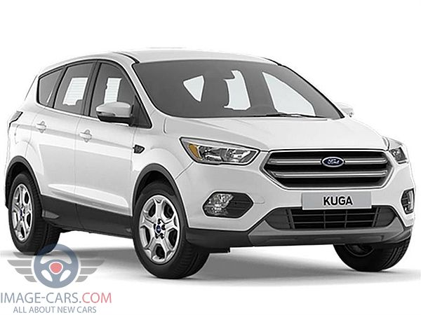Front Right side of Ford Kuga of 2018 year