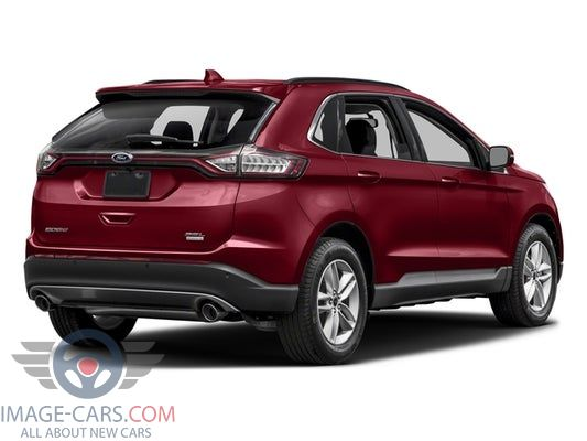 Rear Left side of Ford Edge of 2017 year