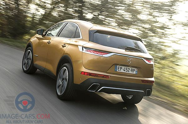 Rear Left side of Citroen DS7 Crossback of 2018 year