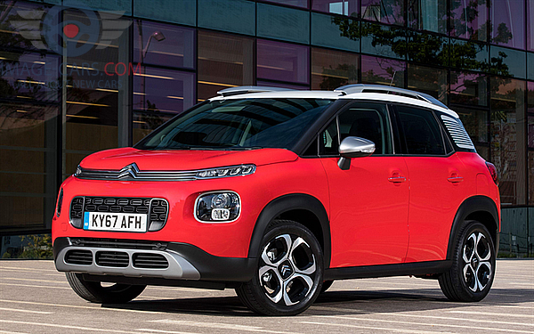 Front Left side of Citroen C3 Aircross of 2018 year