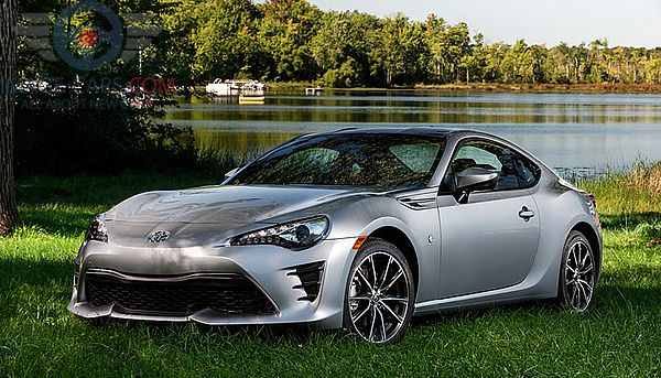 Front Left side of Toyota GT86 of 2017 year