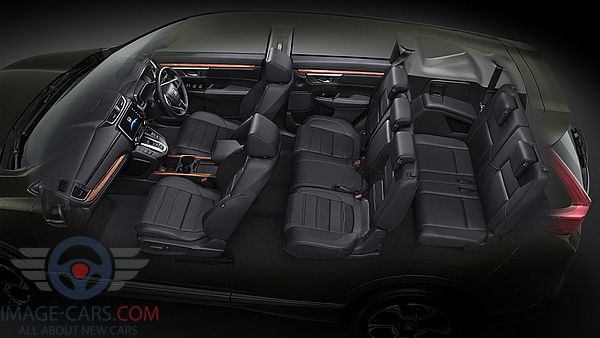 Salon view of Honda CR-V of 2018 year