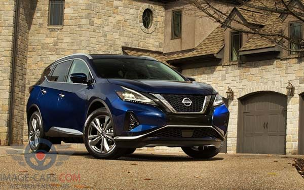 Front view of Nissan Murano of 2018 year