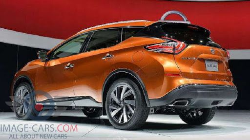 Rear Left side of Nissan Murano of 2018 year